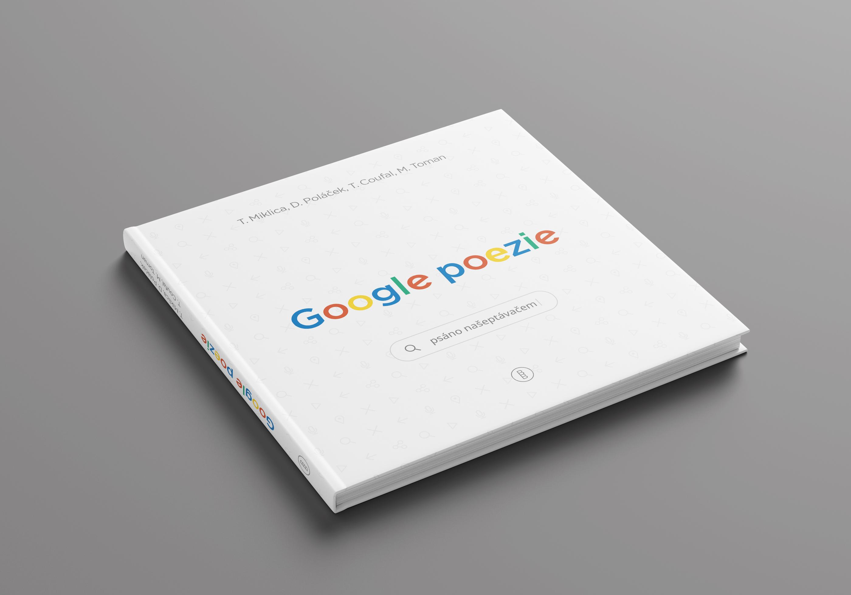 Google poezie slaví sedmé výročí tištěnou knihou.